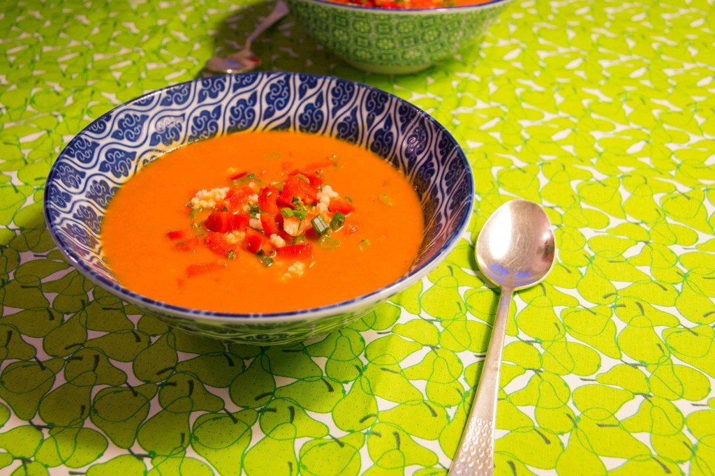 Paprika-Tomaten-Suppe